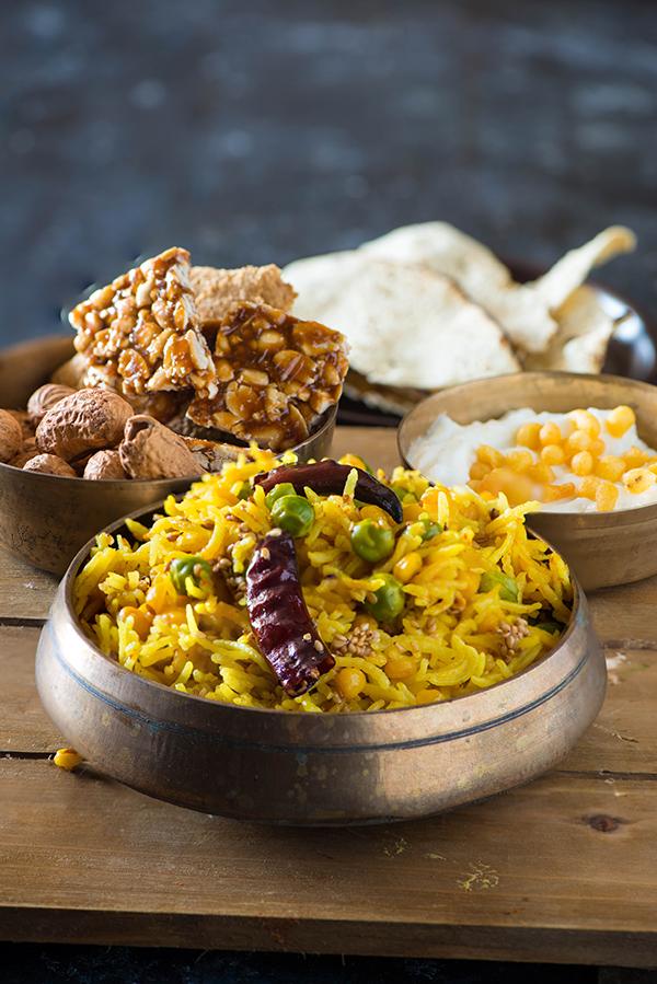 Punjabi Bhuni Khichdi - one pot vegetarian meal