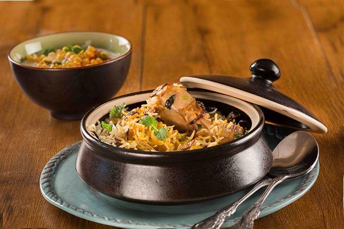 Hyderabadi Chicken Dum Biryani Recipe My Tasty Curry