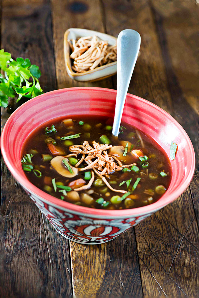 Hot n Sour Soup Recipe | Popular Indo-Chinese Soup Recipes ...