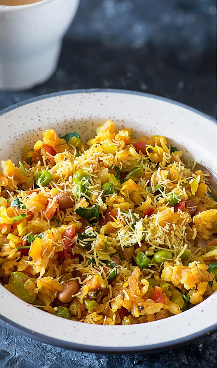 Healthy Poha Recipe