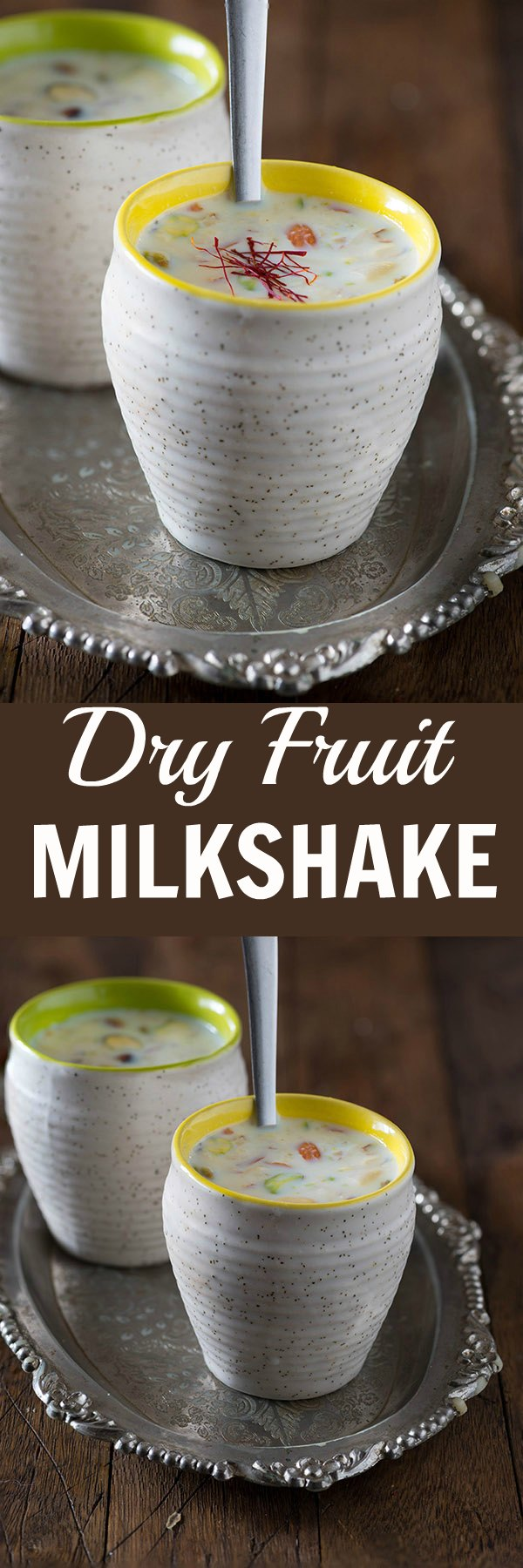 Dry fruit Milkshake is refreshing summer drink. Nutrition wise the milkshake is almost a meal in a glass with the goodness of milk, nuts, and saffron. It is perfect and rich milkshake for the breakfast.