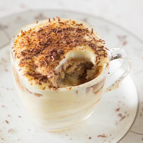 Coffee custard and cake pudding is a divine match made in heaven consisting of all indulgent flavors together -a little sweet and a little bitter. You really can't get enough of this delicious layered dessert which needs not much of real cooking and you can put it together in few minutes.