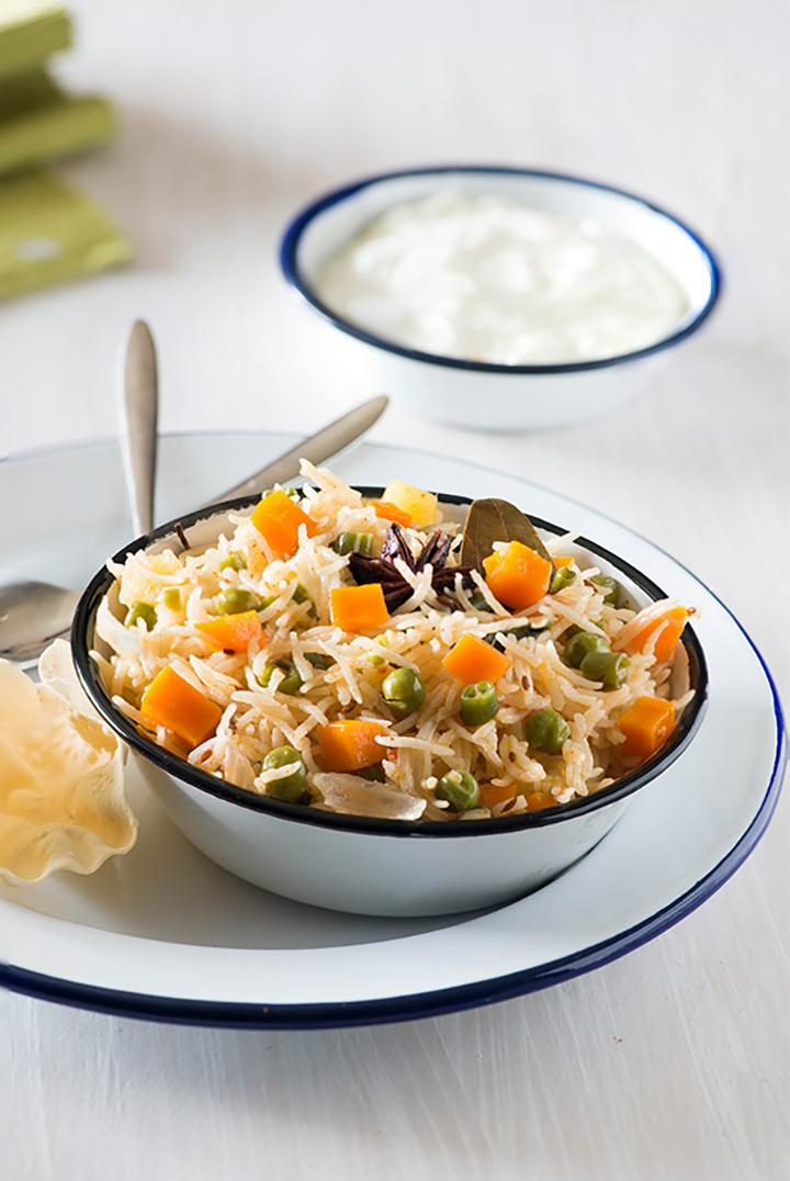 Vegetable Pulao (Veg Pulav)