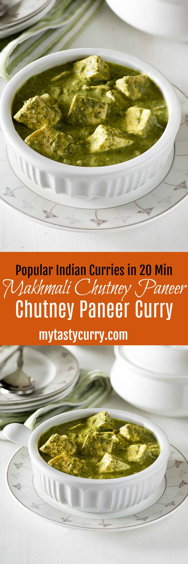 Makhmali Paneer curry is a spicy and aromatic quick paneer dish with a vibrant color and bold flavors. This popular Indian curry takes only 20 minutes to cook and is high on flavor.One of the quickest Paneer curry to serve with Paratha and Naan