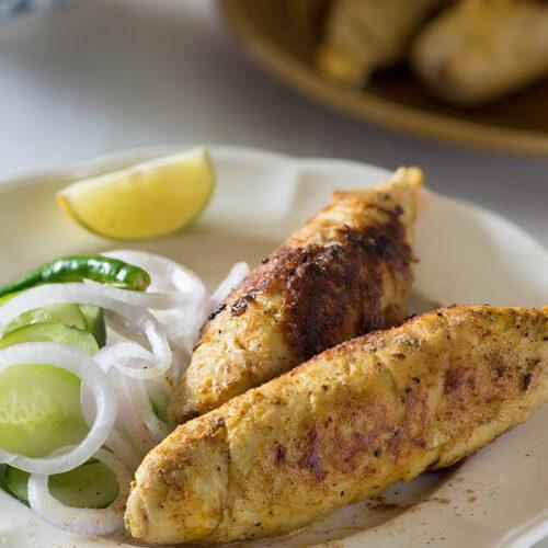 Afgani Soya chaap recipe is a dry soya chaap dish cooked in Delhi street style Afghani soya chaap also known as tandoori soya chaap recipe.