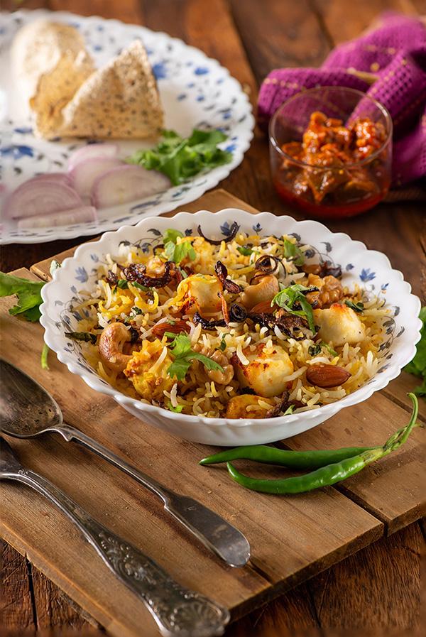 Paneer Biryani recipe in Pressure cooker