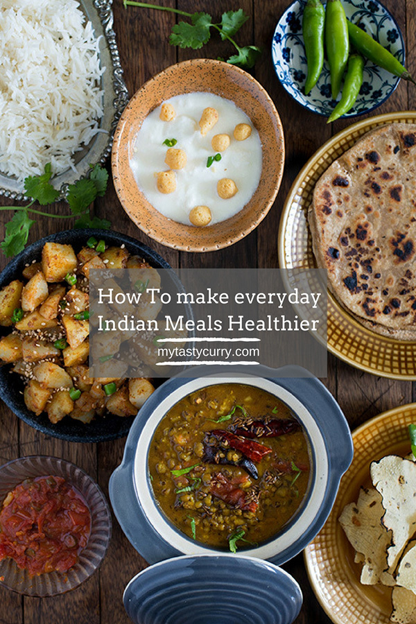 Many of you wonder Indian meal plan is healthy or not? In this post I am sharing with you how can you eat healthy Indian food every day. Let's see how to make everyday Indian meal plan healthy