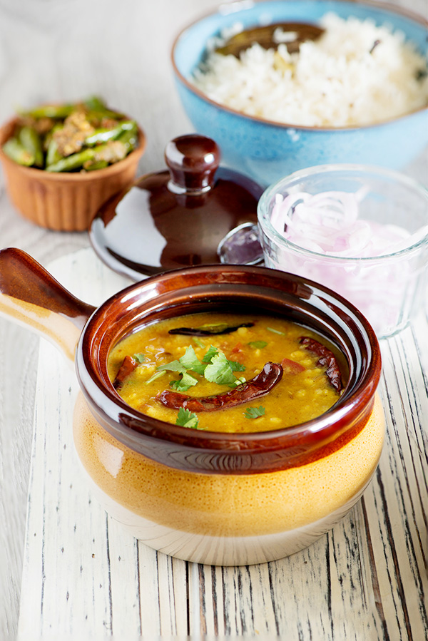 Khatti Dal Fry recipe Moong massor ki dal