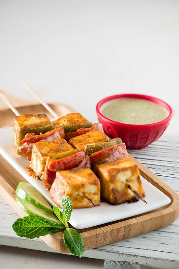 Tandoori paneer tikka recipe in microwave oven