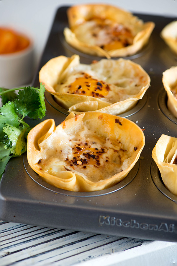 Baked Egg Pizza Cups Breakfast