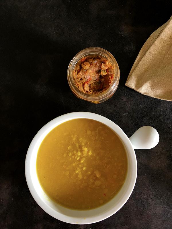 Indian Dal Tadka Meal prep