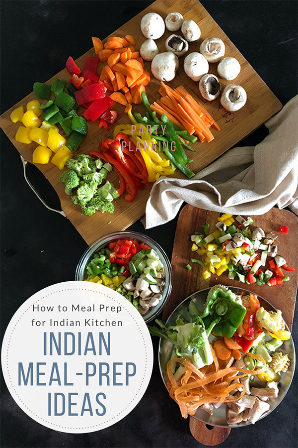 Indian Meal prep Meal Plan