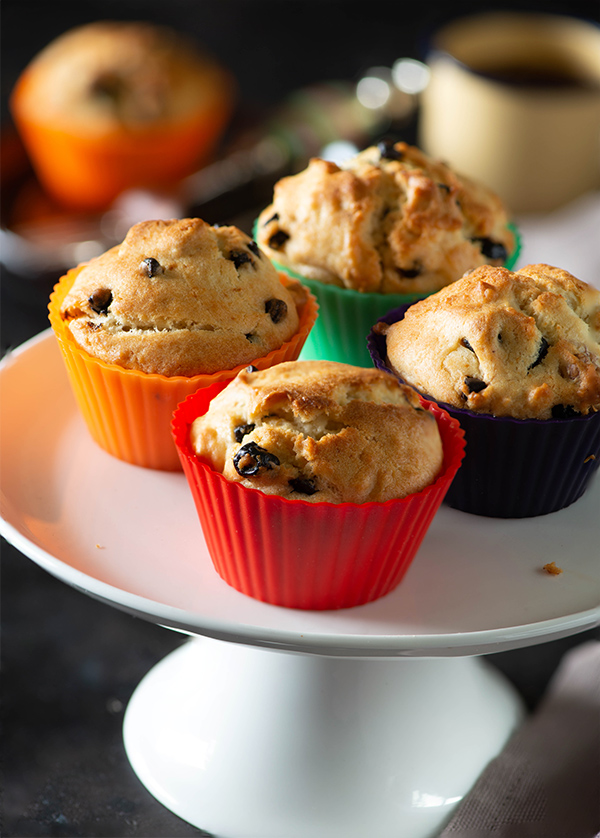 eggless microwave muffins