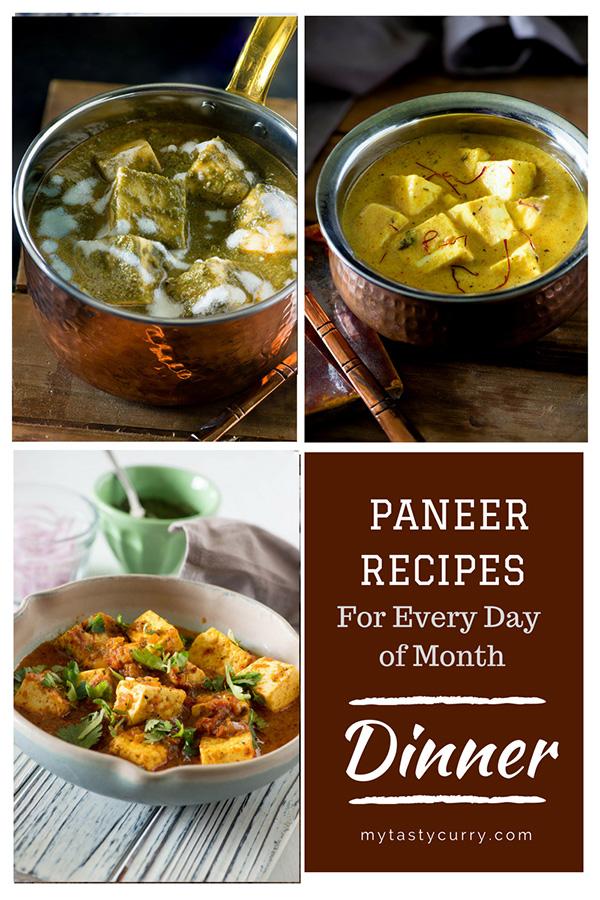 tasty paneer recipes