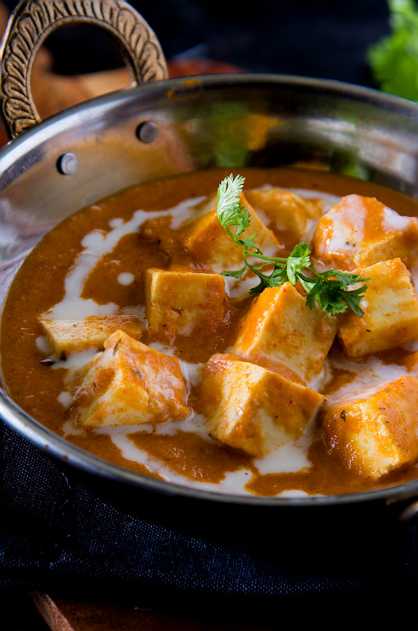 Butter paneer makhani - paneer recipes