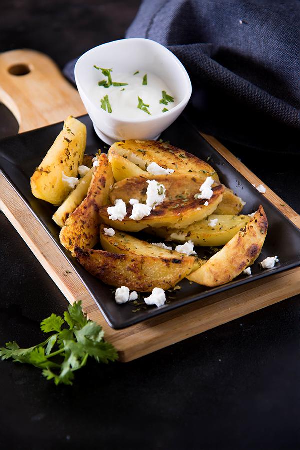 herbed potato greek