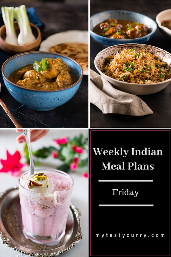 Weekly Meal Plan Friday