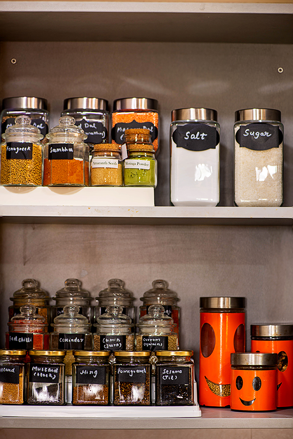 how to organize Indian spice cabinet - Pantry Ideas - My ...
