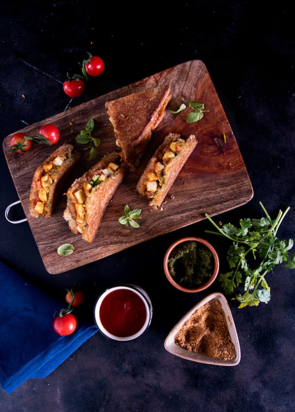 Paneer Sandwich veg