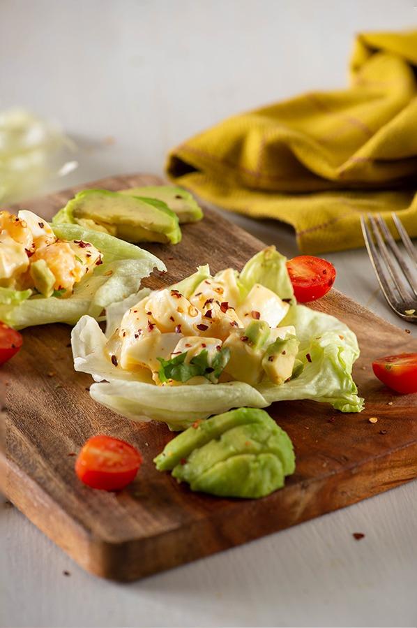 keto egg salad recipe image