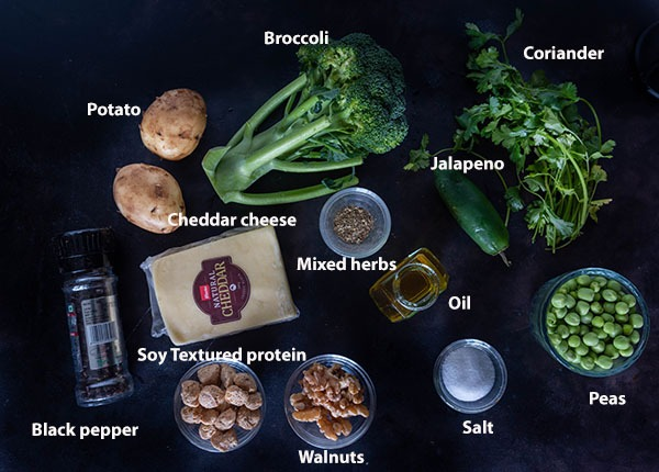 Ingredients for making nuggets