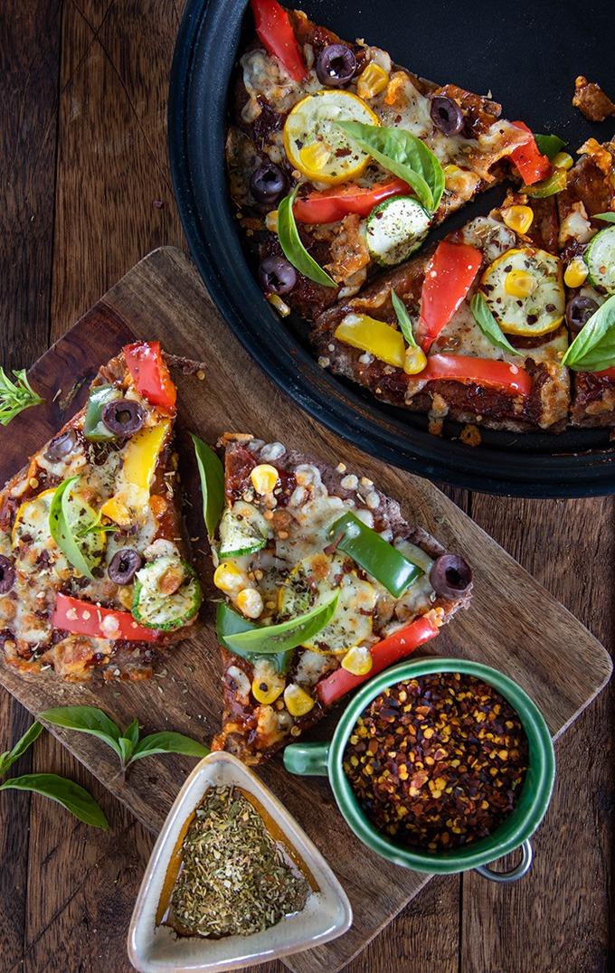 ragi pizza recipe