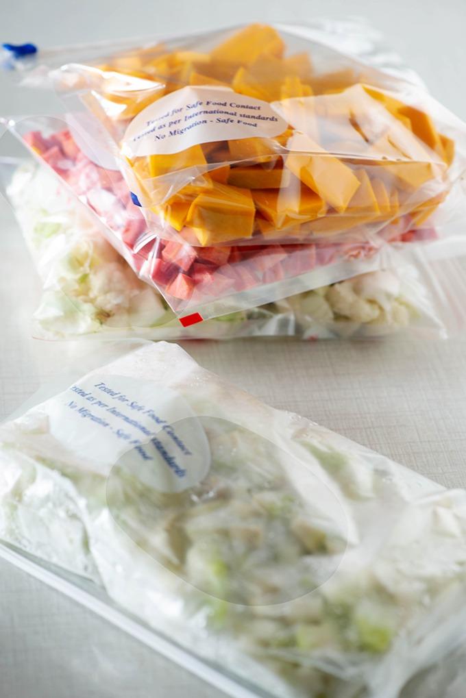 Vegetables to stock for coronavirus