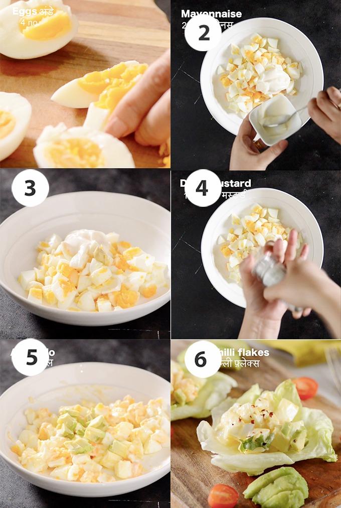 egg salad recipe step by step