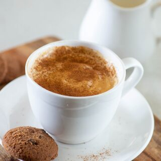 Hot cappuccino without any gadget