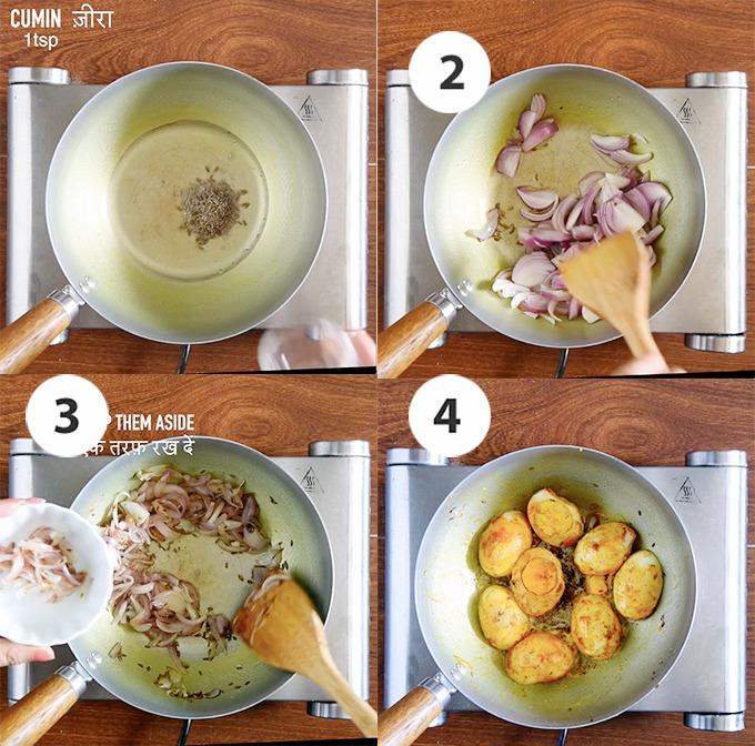 steps of egg biryani recipe