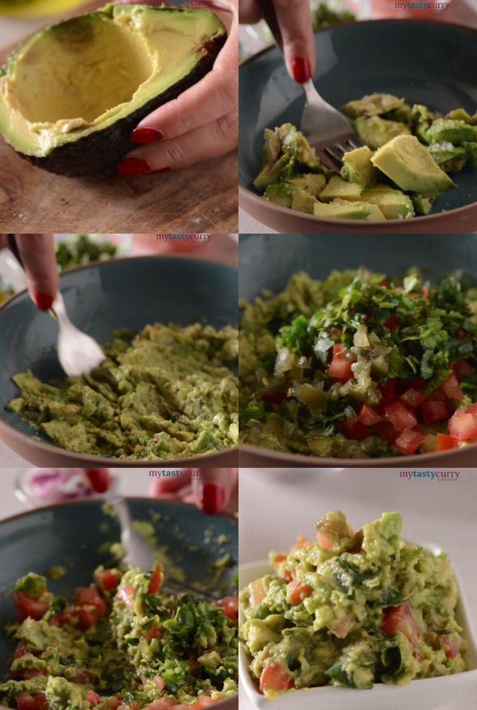 Guacamole Recipe step