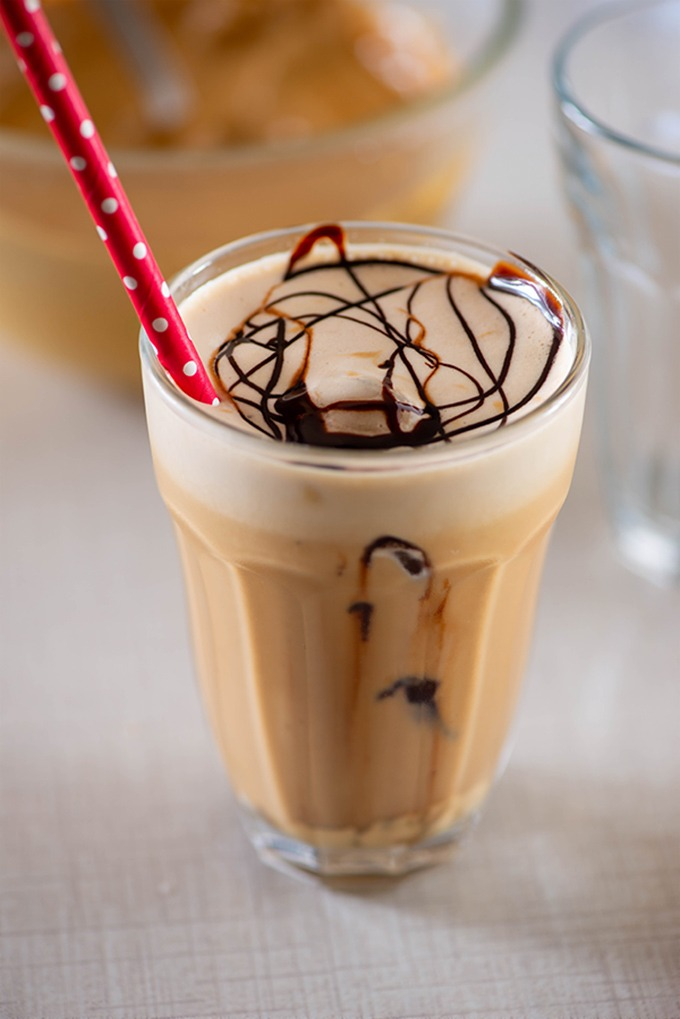 cafe style cold coffee at home