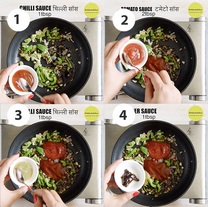 step by step Making gravy