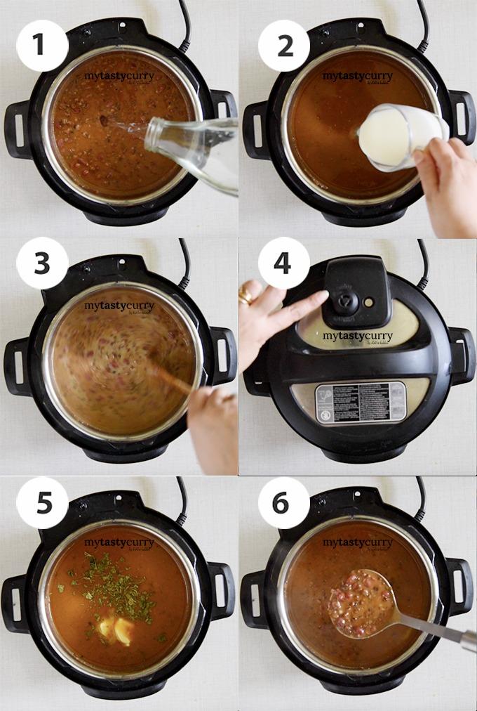 step by step dal makhani recipe