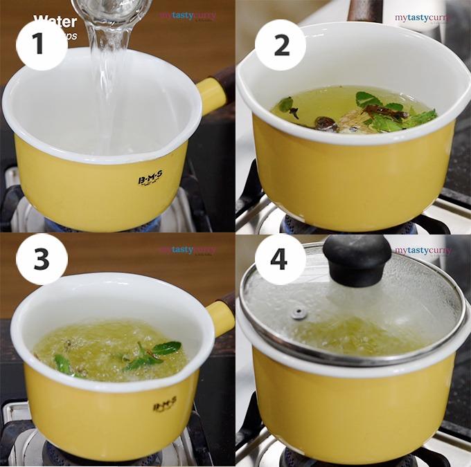 Ayurvedic kadha recipe at home