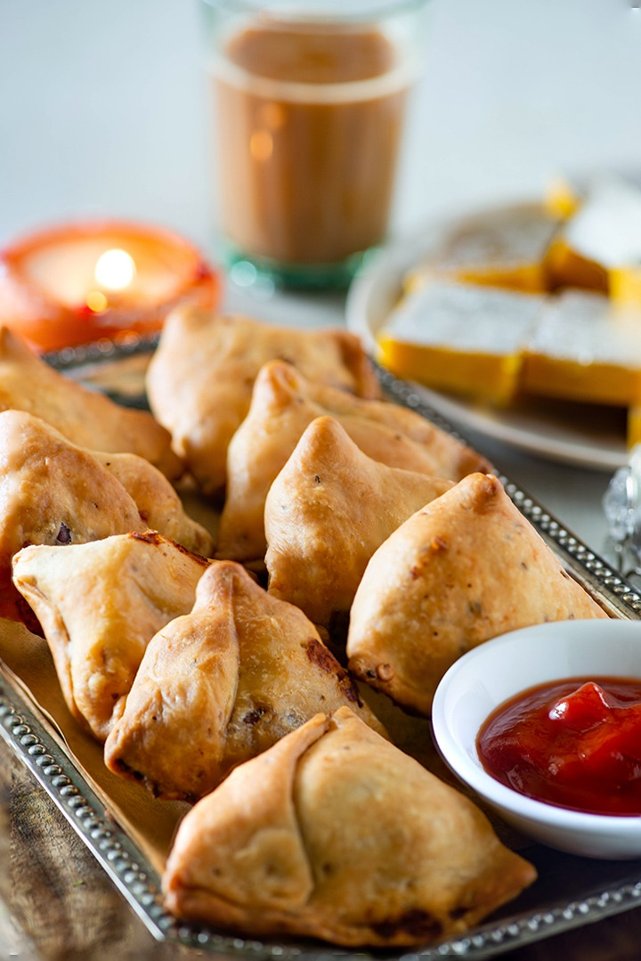 baked samosa in air fryer