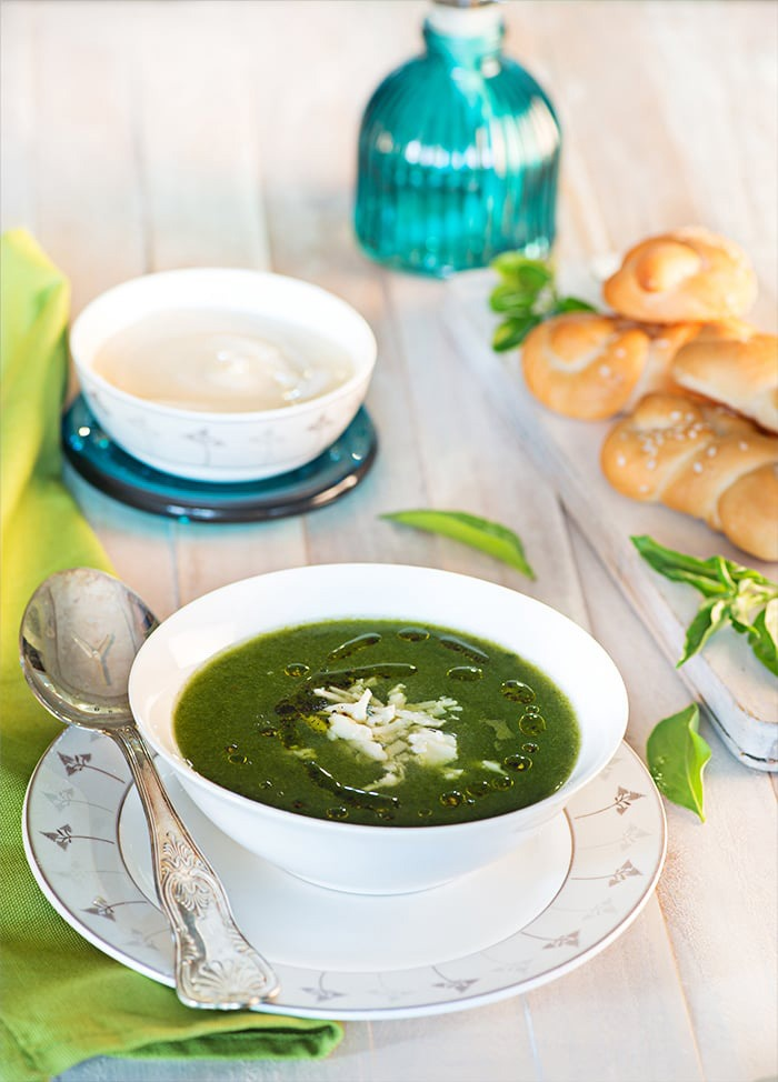 spinach soup for weightloss