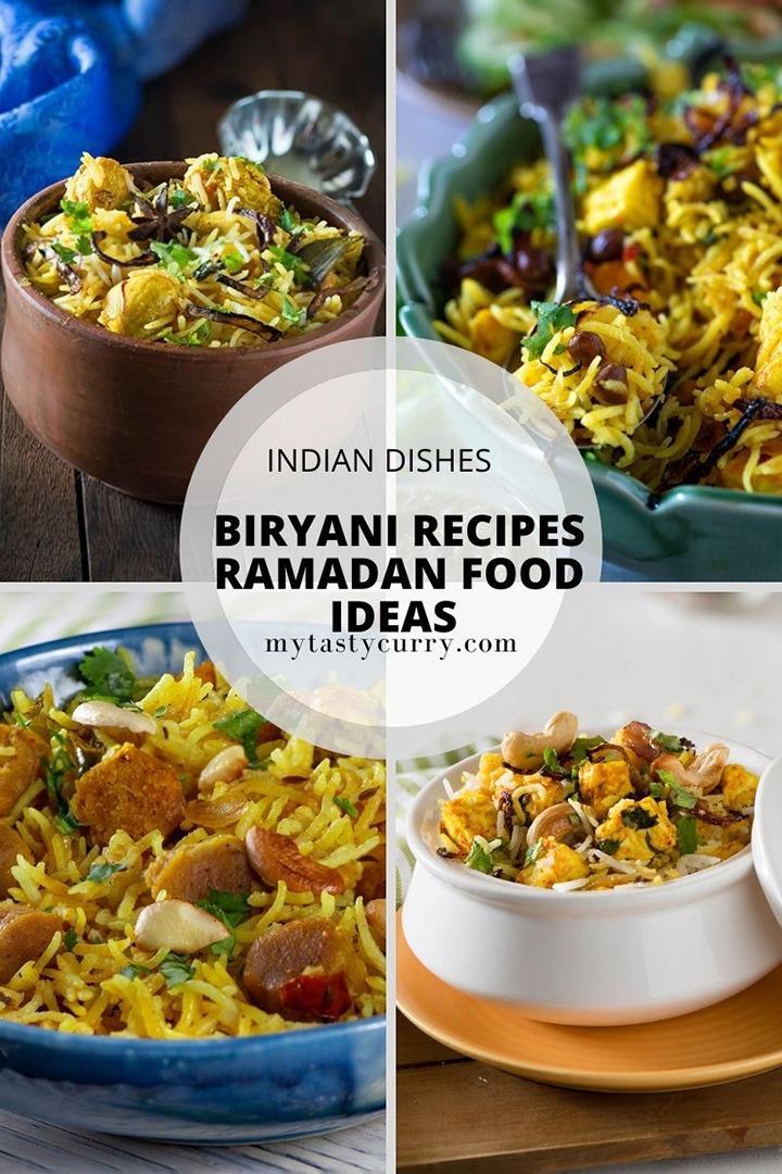 Biryani recipes for Ramadan