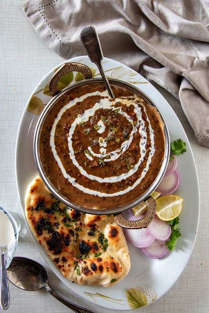 Dal makhani with Butter naan