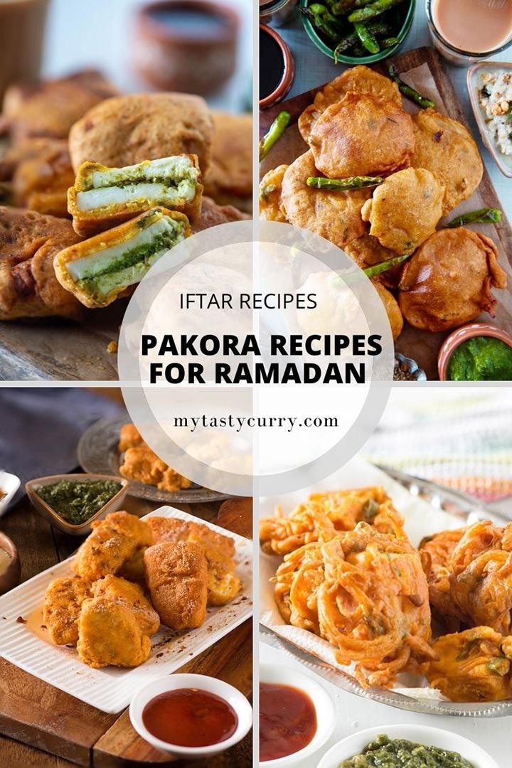 Pakora recipes for Ramadan