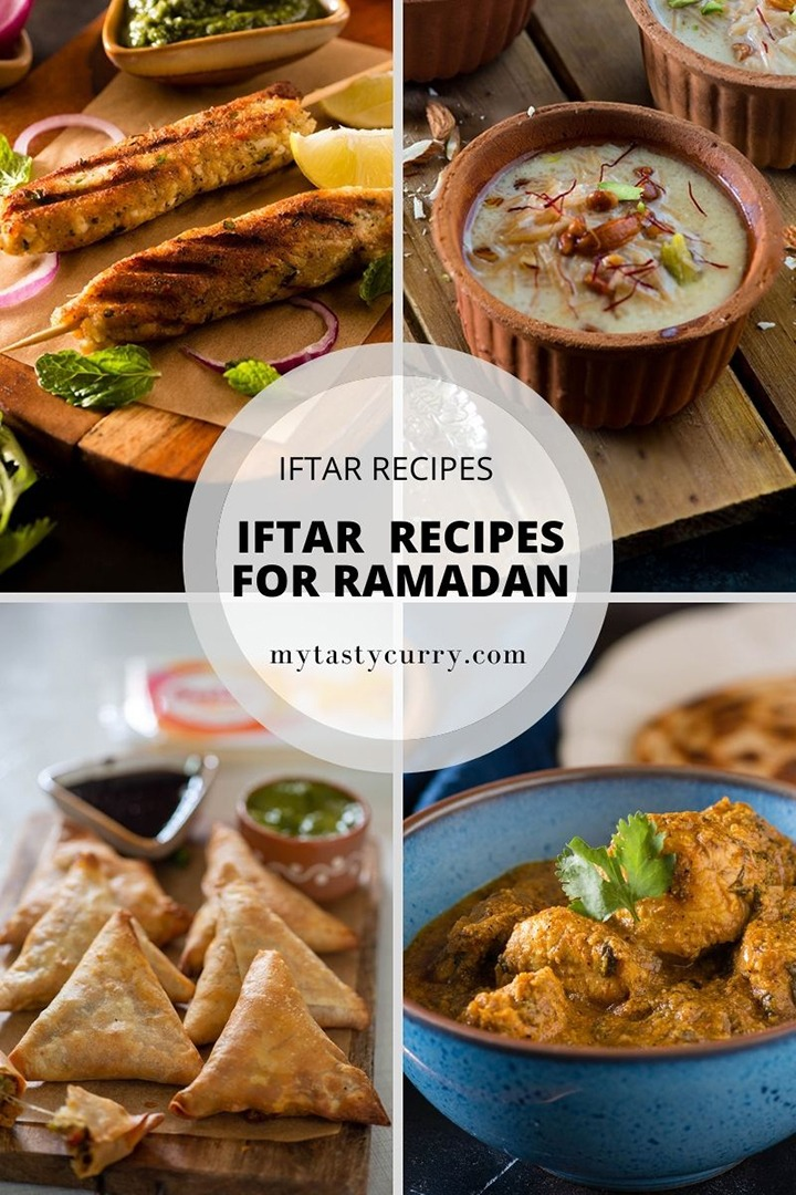 Recipes and food to cook for Ramadan