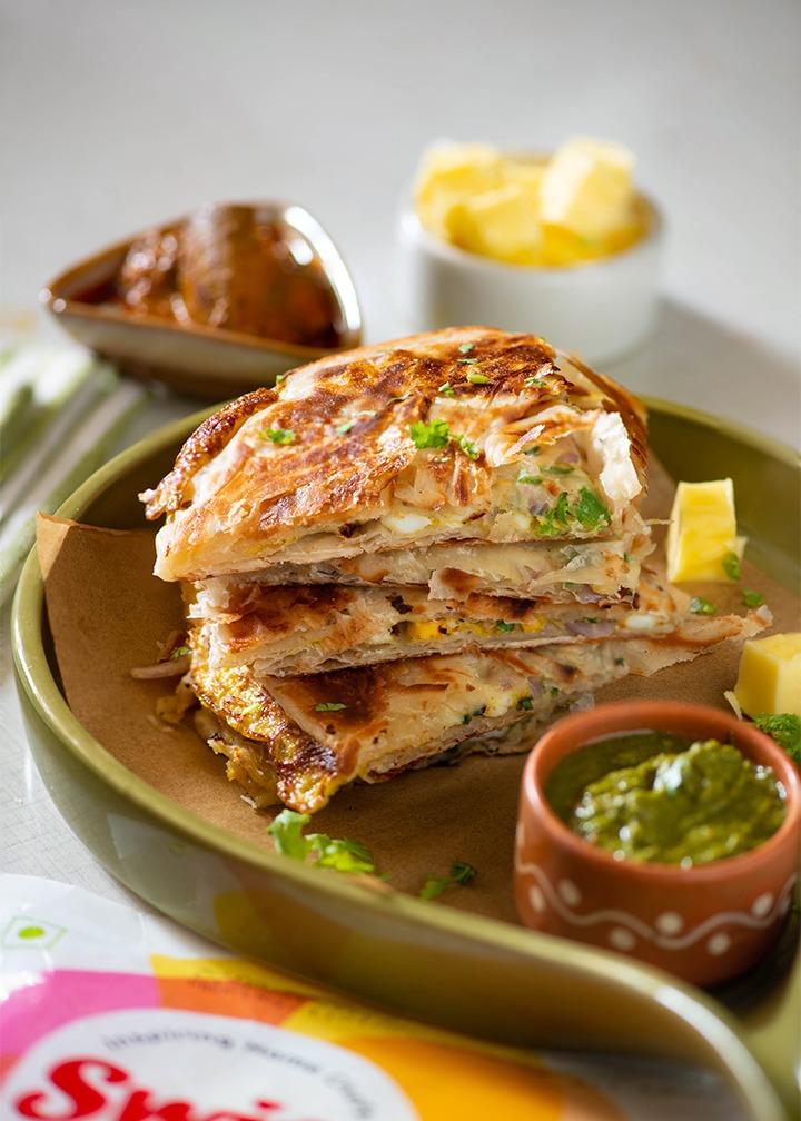 egg mughlai paratha