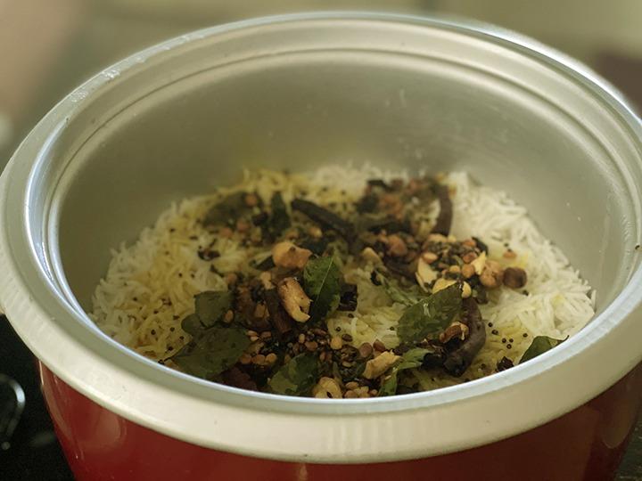 Step 9 lemon rice