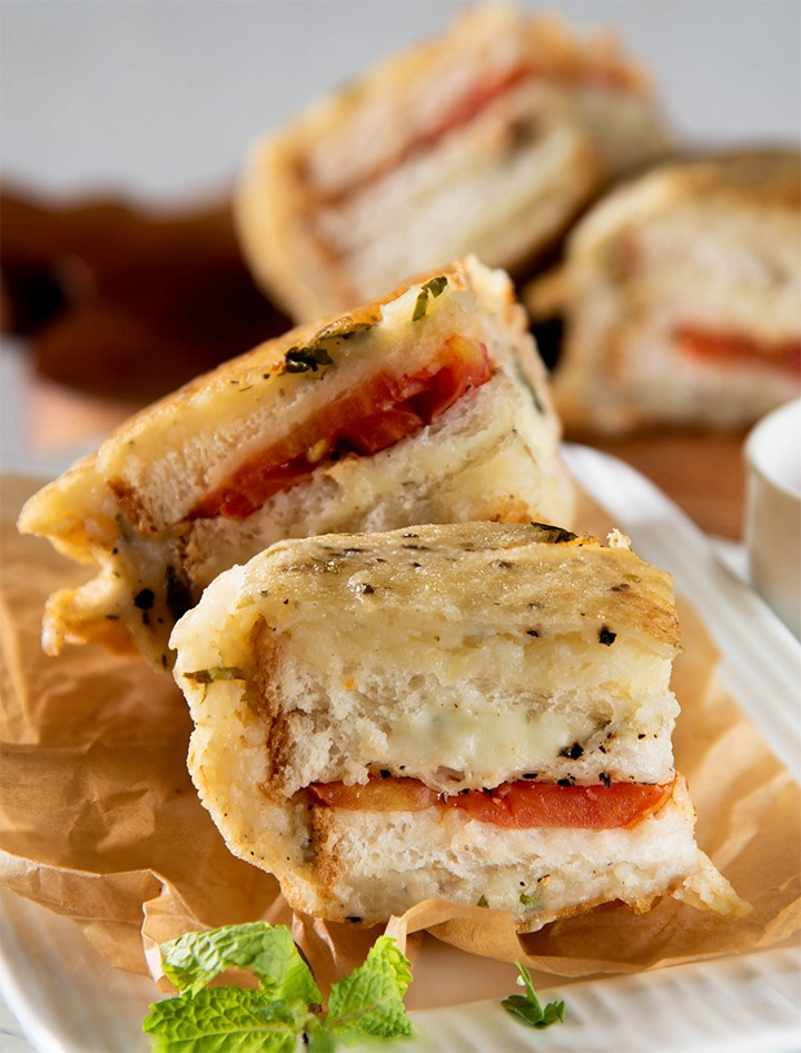 Cheesy Bread snacks for kids