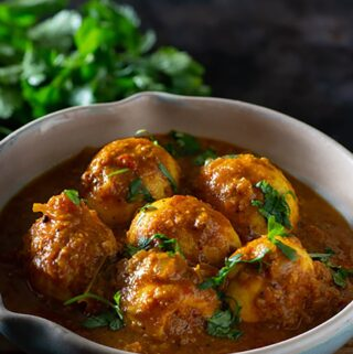 Spicy South Indian egg curry recipe