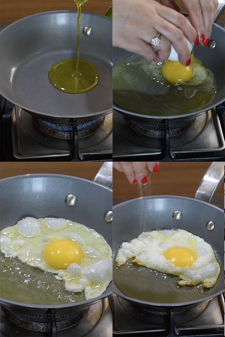 how to make fried eggs