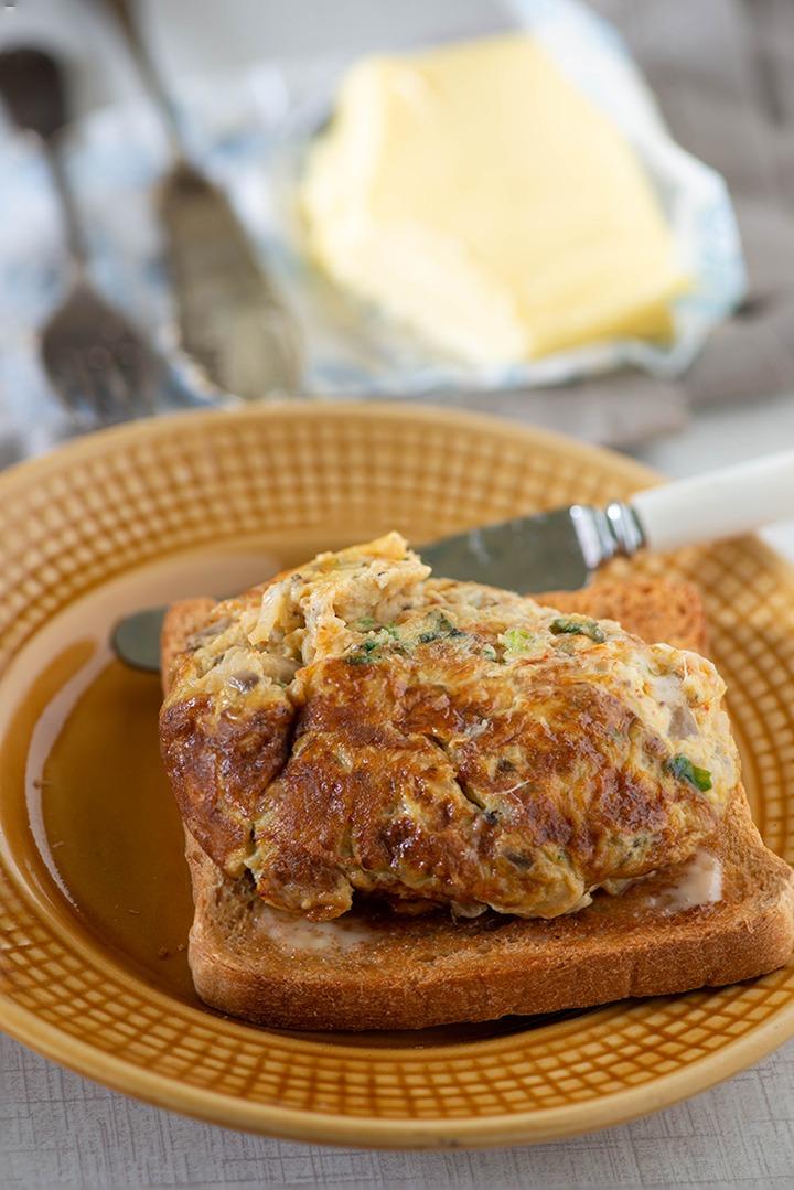karandi omelette recipe